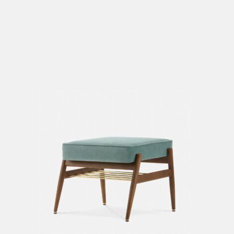 sessel, mobel, wohnen, fussbaenke, FUßBANK FOX | VELVET - 366 Concept Fox Footrest W03 Velvet Mint 470x470
