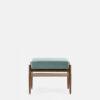 sessel, mobel, wohnen, fussbaenke, FUßBANK FOX | VELVET - 366 Concept Fox Footrest W03 Velvet Mint front 100x100