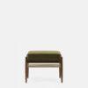 sessel, mobel, wohnen, fussbaenke, FUßBANK FOX | VELVET - 366 Concept Fox Footrest W03 Velvet Olive front 100x100