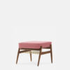 sessel, mobel, wohnen, fussbaenke, FUßBANK FOX | VELVET - 366 Concept Fox Footrest W03 Velvet Powder Pink 100x100