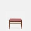 sessel, mobel, wohnen, fussbaenke, FUßBANK FOX | VELVET - 366 Concept Fox Footrest W03 Velvet Powder Pink front 100x100