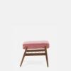 sessel, mobel, wohnen, fussbaenke, FUßBANK FOX | VELVET - 366 Concept Fox Footrest W03 Velvet Powder Pink side 100x100