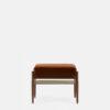 sessel, mobel, wohnen, fussbaenke, FUßBANK FOX | VELVET - 366 Concept Fox Footrest W03 Velvet Red Brick front 100x100