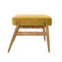 , FOOTREST FOX | VELVET - 366 concept footrest ash 02 velvet mustard 90x90