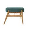 sessel, mobel, wohnen, fussbaenke, FUßBANK FOX | VELVET - 366 concept footrest ash 02 velvet ocean 100x100