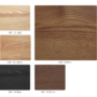 , SCHAUKELSTUHL FOX | LOFT - Ash Wood Color Pallet 90x90