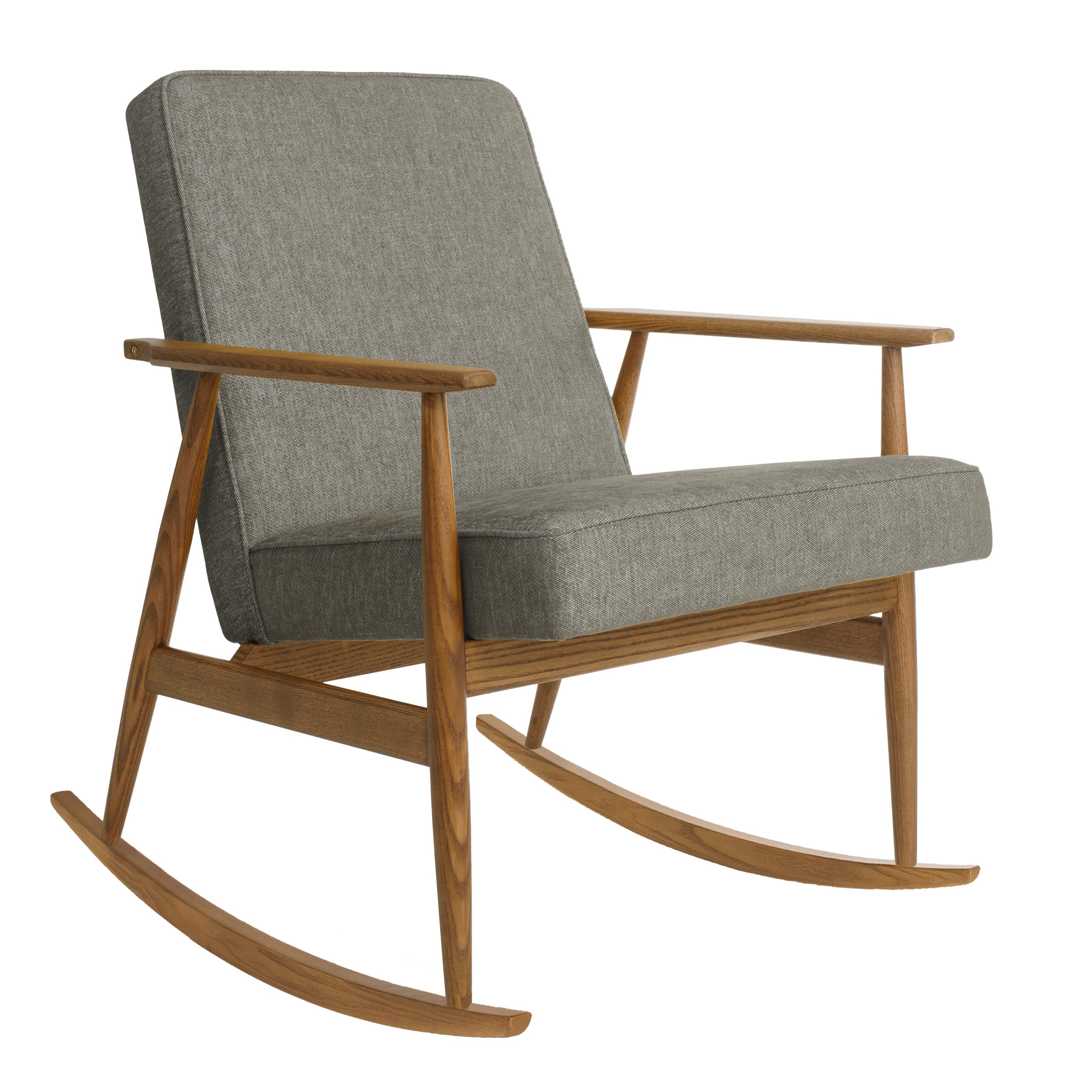 Fox Rocking Chair LOFT Grey Dark Oak