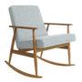 , SCHAUKELSTUHL FOX | TWEED - Fox Rocking Chair TWEED Mentos Dark Oak 90x90