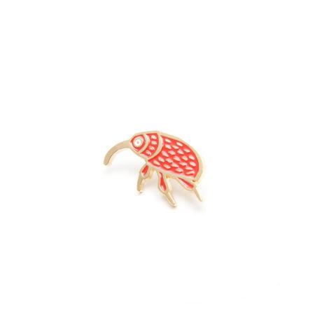schmuck, pins, PIN ROTER HASELNUSSBOHRER - MG 5048 470x470