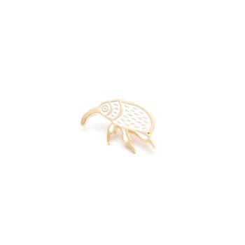pins-en, jewellery, PIN WHITE NUT WEEVIL - MG 5055b 350x350