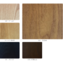 , FUßBANK FOX | VELVET - 366 Concept Ash Wood Color Pallet 90x90