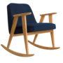 , SCHAUKELSTUHL 366 PLUS WOOL - 366 concept 366 rocking chair oak 02 wool jeans 90x90
