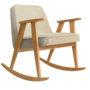 , SCHAUKELSTUHL 366 PLUS WOOL - 366 concept 366 rocking chair oak 02 wool sand 90x90
