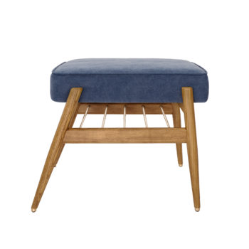 interior-design, furniture, footrests, armchairs, FOOTREST FOX | DENIM - 366 concept footrest ash 02 denim dark jeans 350x350