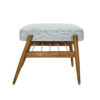 sessel, mobel, wohnen, fussbaenke, FUßBANK FOX | TWEED - 366 concept footrest ash 03 tweed mentos 100x100