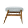 , FUßBANK FOX | TWEED - 366 concept footrest ash 03 tweed mentos 90x90