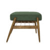 sessel, mobel, wohnen, fussbaenke, FUßBANK FOX | WOOL - 366 concept footrest ash 03 wool bottle green 100x100