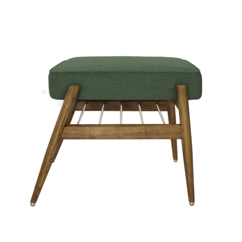 , FUßBANK FOX | WOOL - 366 concept footrest ash 03 wool bottle green 470x470