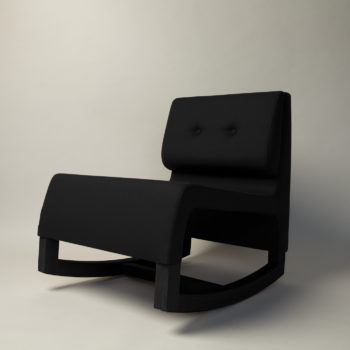 , ROCKING CHAIR YOKO - yoko black 2 350x350