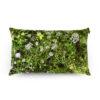 wohntextilien, wohnen, kissen-und-kissenbezuege, HAYKA ALPENWIESE KISSEN GEFÜLLT MIT BUCHWEIZENSCHALEN - Alpine Meadow 50x30 buckwheat packshot 100x100