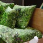 , HAYKA ALPENWIESE KISSEN - Alpine Meadow pillows 1 90x90