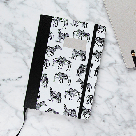 , NOTIZBUCH PAPER LOVE ZEBRA - MG 9363 1