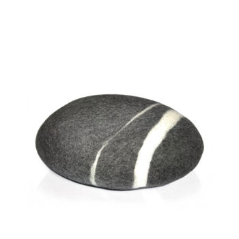 wedding-gifts, pillows, interior-design, home-fabrics, STONE PILLOW DARK GREY - P3DG 350x350