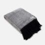 , WOOL BLANKET RURU BLACK - RURU black 1 90x90