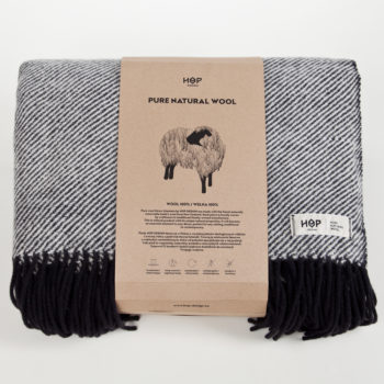 home-fabrics, interior-design, decken-und-ueberwuerfe-en, WOOL BLANKET YETI YELLOW - RURU black packaging 1 350x350