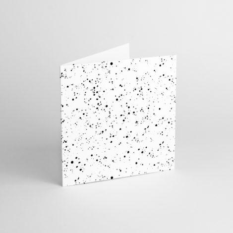 , GRUßKARTE SPLATTER WHITE - SPLAT 2 470x470