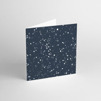 , GREETING CARD SPLATTER NAVY - SPLAT 3 350x350