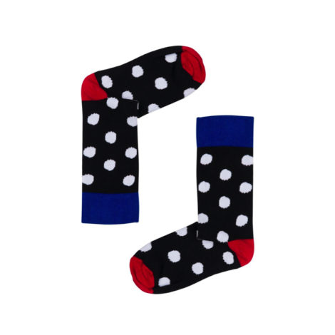 bekleidung-en, socks, clothes-accessories, SOCKS POLKA DOTS B&W - białe grochy 470x470