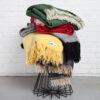 home-fabrics, wedding-gifts, interior-design, greenery-en, decken-und-ueberwuerfe-en, WOOL BLANKET RURU GREEN - hop 28 100x100
