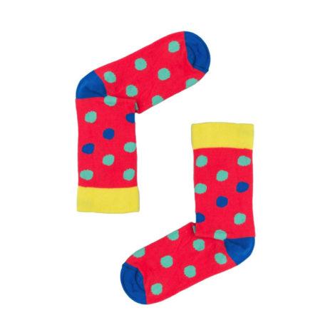 bekleidung-en, socks, clothes-accessories, SOCKS POLKA DOTS - kolorowe grochy 470x470