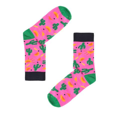 bekleidung-en, socks, clothes-accessories, SOCKS CRAZY CACTUS - nowe kaktusy 470x470