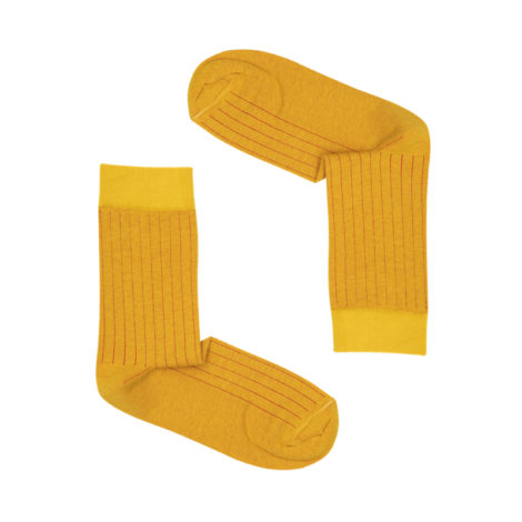 bekleidung-en, socks, clothes-accessories, SOCKS YELLOW - paski yellow and red 470x470