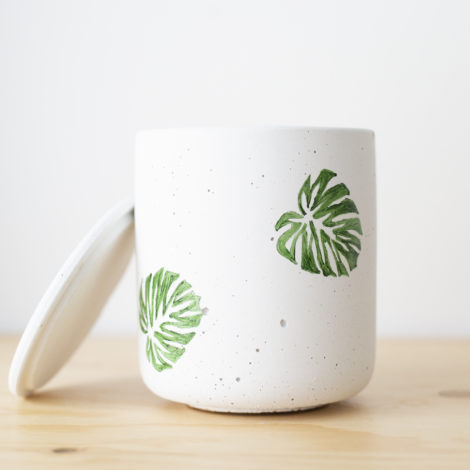 home-accessories, interior-design, greenery-en, candles, SCENTED SOY CANDLE MONSTERA - QY1C0013 470x470