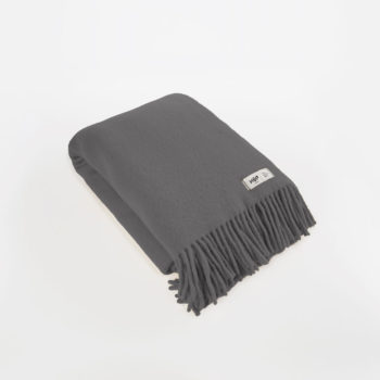 , WOOL BLANKET YETI GRAPHITE GREY - YETI grafitowy1 350x350