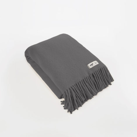 home-fabrics, wedding-gifts, interior-design, decken-und-ueberwuerfe-en, WOOL BLANKET YETI GRAPHITE GREY - YETI grafitowy1 470x470