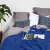 home-fabrics, interior-design, decken-und-ueberwuerfe-en, WOOL BLANKET YETI COBALT BLUE - YETI kobaltowy3 100x100