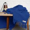 home-fabrics, interior-design, decken-und-ueberwuerfe-en, WOOL BLANKET YETI COBALT BLUE - YETI kobaltowy4 100x100
