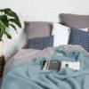 home-fabrics, wedding-gifts, interior-design, decken-und-ueberwuerfe-en, WOOL BLANKET YETI PASTEL BLUE - YETI pastelowy błękit3 100x100