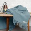 home-fabrics, wedding-gifts, interior-design, decken-und-ueberwuerfe-en, WOOL BLANKET YETI PASTEL BLUE - YETI pastelowy błękit4 100x100