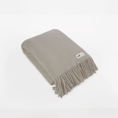 , WOOL BLANKET YETI EARTH GREY - YETI szary ziemisty1 470x470