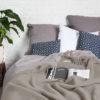 home-fabrics, wedding-gifts, interior-design, decken-und-ueberwuerfe-en, WOOL BLANKET YETI EARTH GREY - YETI szary ziemisty3 100x100