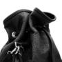 , 2.5 PINATEX MIDNIGHT BLACK BUCKET BAG - big 1 90x90