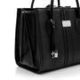 , 1.6 BLACK APPLE TOTE BAG - big 1.6Apple 90x90
