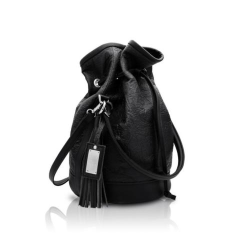 , 2.5 PINATEX MIDNIGHT BLACK BUCKET BAG - big 2.5 pinatex 470x470