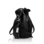 , 2.5 PINATEX MIDNIGHT BLACK BUCKET BAG - big 2.5 pinatex 90x90