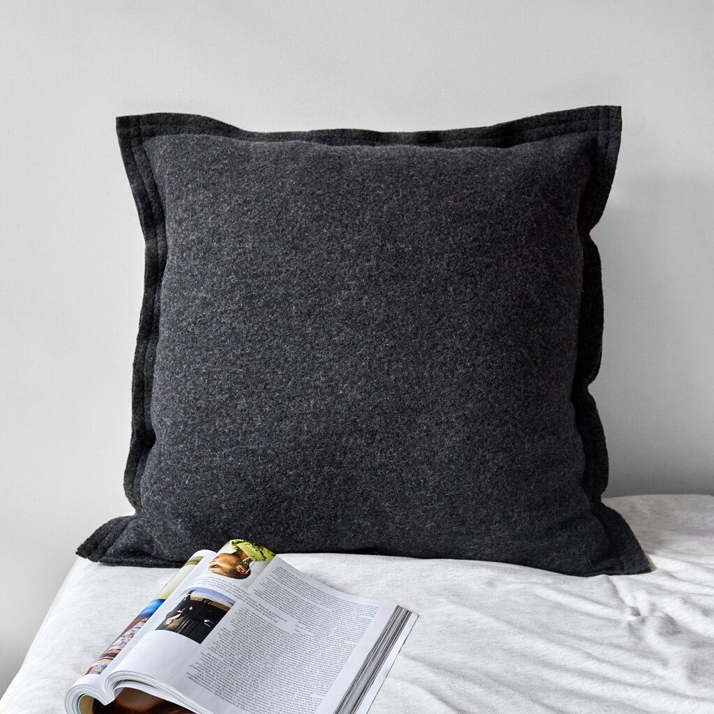 wohntextilien, wohnen, kissen, KISSEN GREAT ANTHRAZIT - 2996 moyha cushion great anthracite 4